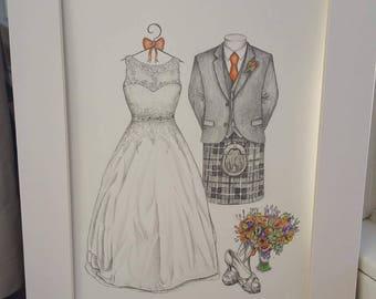 A4 Wedding Portrait