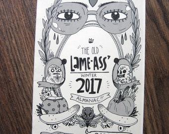 Lame-Ass Winter 2017 Almanac Minicomic
