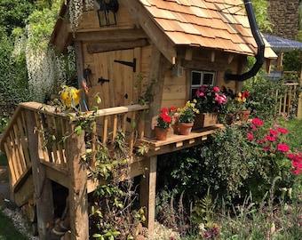 The Woodland Cabin Garden Playhouse