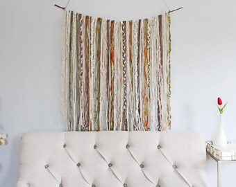 Tapestry Wall Hanging Yarn Wall Tapestry, Boho Wall Hanging Tapestry Boho, Tapestry Bohemian, Boho Home Decor, Boho Decor Living Room