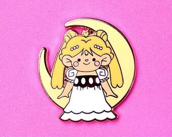 Princess Moon Pin