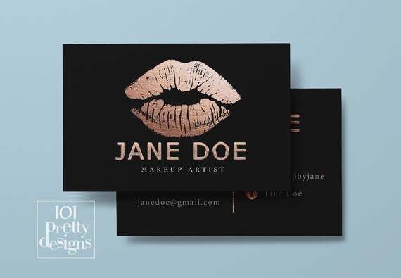 Rose gold foil business cards best business 2017 foil printed business cards new zealand fancy high end busines reheart Image collections