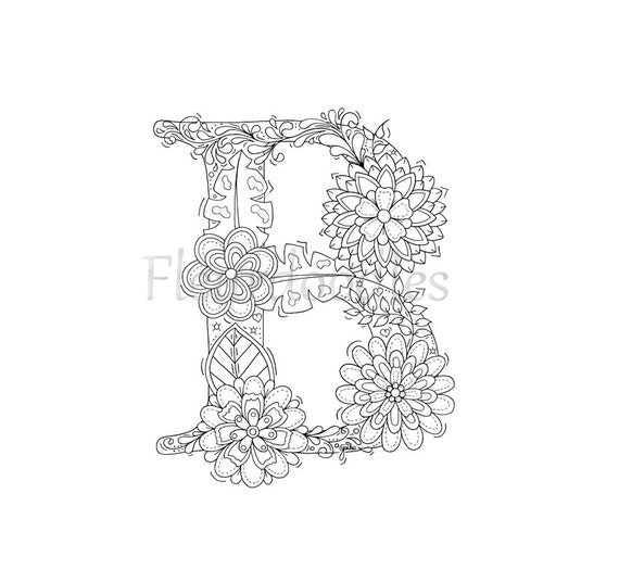 malseite zum ausdrucken buchstabe b floral