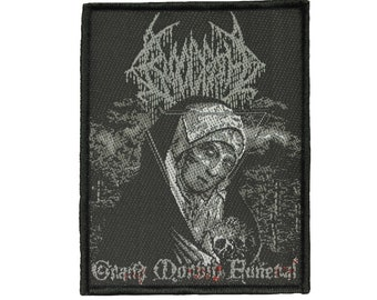 Bloodbath Grand Morbid Funeral Patch Death Metal Band Woven Sew On Applique