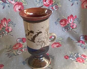 Vintage Otagiri Geese Irish Coffee Mug