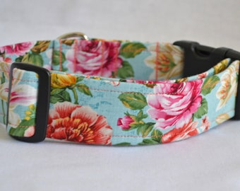 The Mindy Dog Collar (Martingale or Buckle)