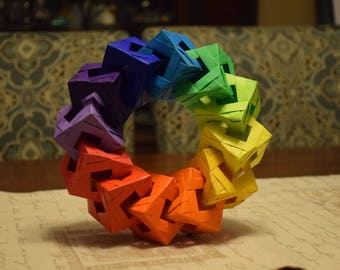 Origami Cube Ring