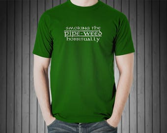Pipe-weed Hobbitually (T-Shirt)