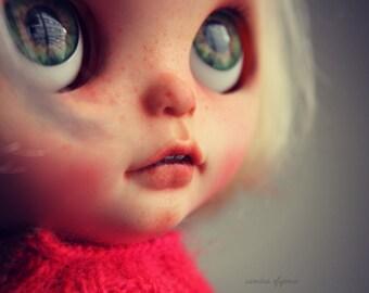 Albino - OOAK Blythe Art Doll by me