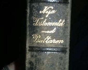 1907 Norwegian New Testament Bible