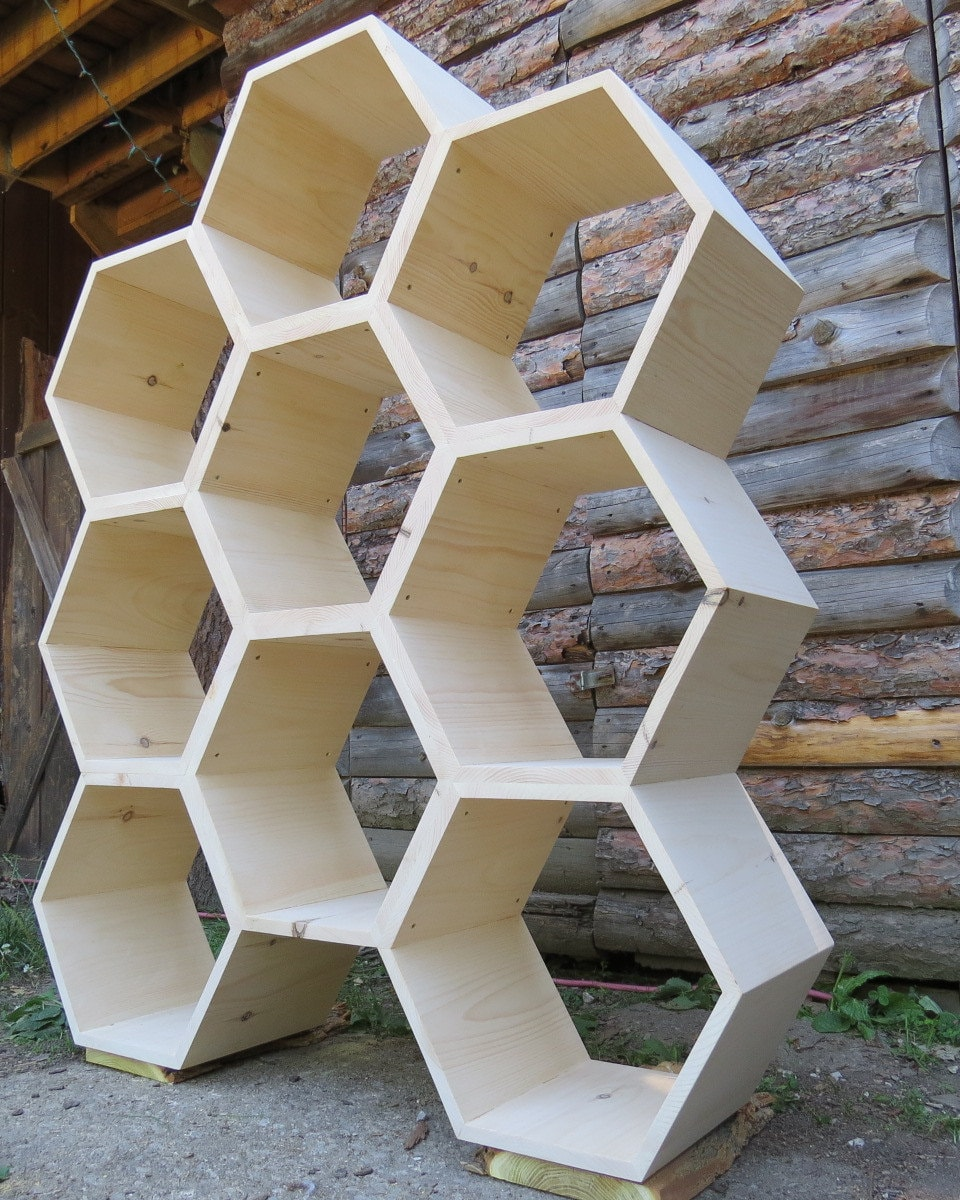 full a honeycomb phenomenal bed for bunk shelves bookcase diy wall size of beautiful mess laudable with interesting bookshelf shelf crown behind uncategorized