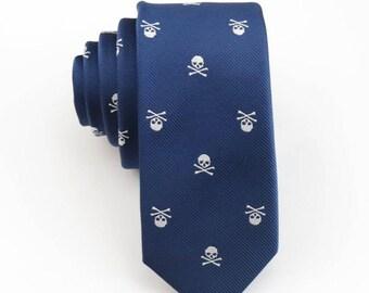 Skull Necktie,Skulls Tie,Mens Necktie,Red Skull Tie,Mens Grooming,Personalized Wedding Tie,Tie for Party,Tie for wedding,Mens Gifts