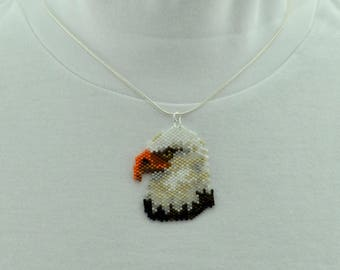 Bald Eagle Necklace Set