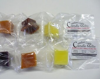 Samples Only 1.00! Handmade Scented wax melts, tarts for wax melters-Comfort Light Candle Melts