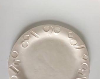 Confetti Dinner Plate