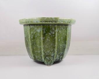 Green Imperial Planter,vintage,ceramic planter,green flower pot,planter,Imperial pottery,vase,flower pots,mid century pot,ceramics,pottery