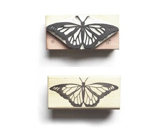 Monarch Butterfly  Rubber Stamp | 022122