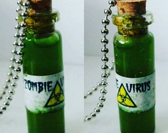 Zombie Virus Necklace