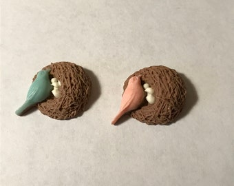 Birds Nest Needle Minders