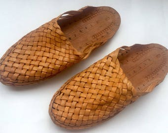Womens Criss Cross Leather slip on Shoes,Womens Flats,Handmade Slippers,Womens Shoes,Womens Casual Shoes