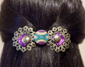 Large Barrette For Thick Hair/ Womans Gift/ FRENCH barrette