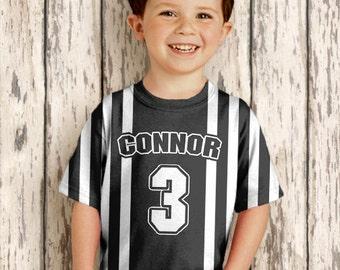 Referee T-Shirt, Personalized Boy's Sport Ref Jersey Costume, Sport Birthday Shirt