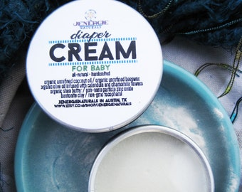 Diaper Cream made with Organic Ingredients ~ 9 oz. Organic Diaper Cream ~ Organic Baby