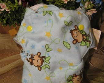 Baby Monkey Cloth Nykibaby Butterfly Diaper 0 to 3 months