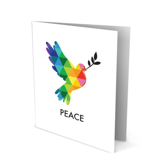 May Peace Be With You - Sympathy Greeting Card