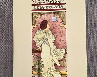 La Dauphine Aux Alderaan Postcard Item (Item 09-025)