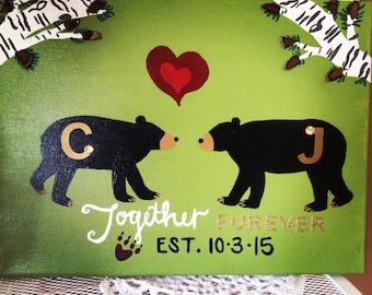 Together Furever Northwoods Canvas