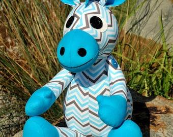 Ziggi the Zebra (Toy / Softie) PDF Pattern