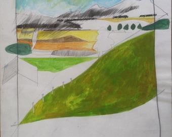 Towards the Hokonuis, Coopers farm #2
