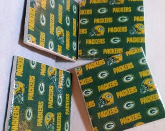 Green Bay Packers Too Tile Coaster