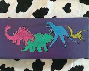 Cretaceous - A Dinosaur Painting