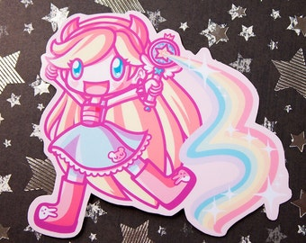 Star Butterfly 3 Inch Vinyl Sticker