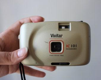 Vivitar 1C 101 35mm panorama film camera