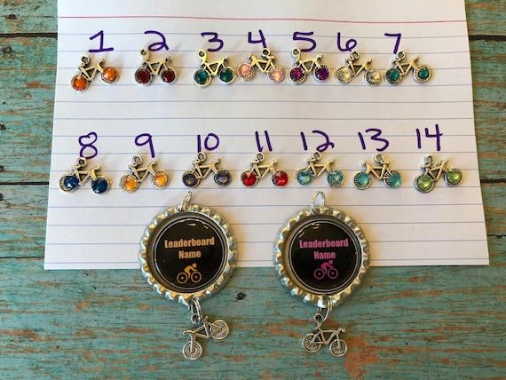 Peloton leaderboard name necklaces