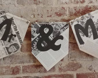 Unique Custom Banners! // Handmade Custom Banners Made From Vintage Record Covers