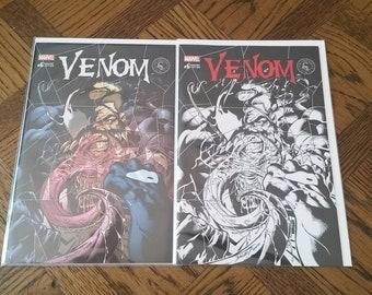 Venom #6 Mark Bagley Cover Variant Lot.