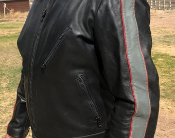 Men's Harley Davidson Leather Jacket Size Large Excellent Condition Reinforced Elbows Great Quality