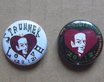 STRUMMER of LOVE  BADGES