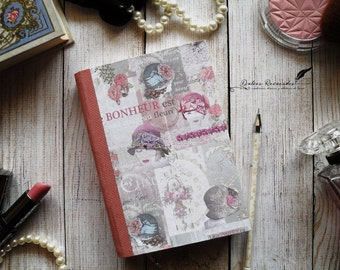 Notebook Mademoiselle - Lady - A6 - A5-A4 - journal - Notebook-
