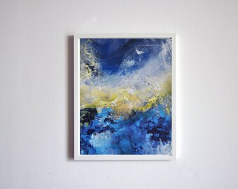 Nostalgia (series) original abstract painting, ready to hang