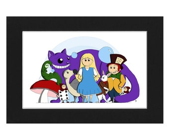 Alice & Friends Limited Edition Print