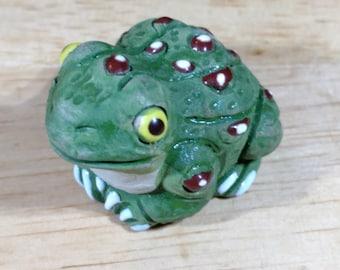 """Peru Clay LEPS Frog 1"""""""