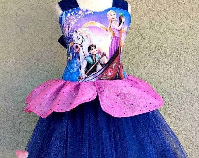 Rapunzel Poppy Dress
