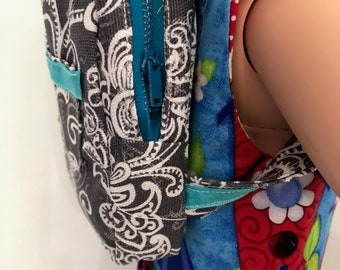 Back Pack for 18 inch Doll , American Made.
