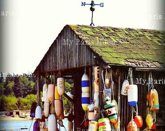 Lummi Island; Travel Photography; Fishing Cabins; Digital Download; Coastal Living