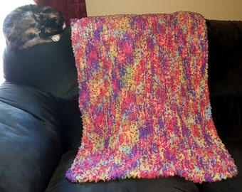 Incredibly Soft Multi Color Baby Blanket